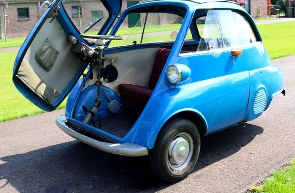 Top 3 des voitures les plus petites qui existent jusqu'à aujourd'hui